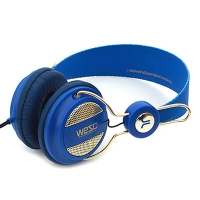 [WeSC](B1)OBOE GOLDEN HEADPHONE ROYAL BLUE