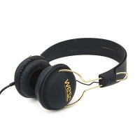 (B2)Tambourine golden(UNISEX PREAMIUM HEADPHONE) - black
