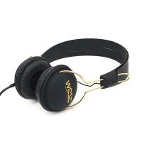 (B2)Tambourine golden(UNISEX PREAMIUM HEADPHONE) - black