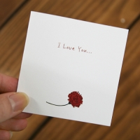 메시지카드 - I Love You