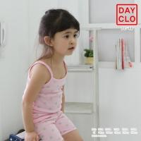 [DAYCLO]데이클로 끈나시 핑크민트도트 상하세트