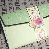 감사카드_전통문양(용돈+상품권봉투)_GC145 연두