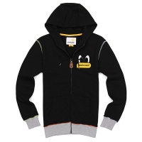 [����]MULTI STITCH LIGHT ZIPUP HOODIE (BLACK)   P#34493#