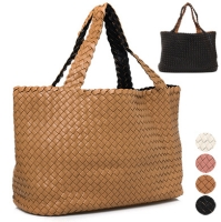Mesh Pouch Shopper Bag