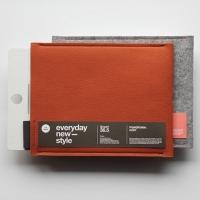 [에피케이스]아이패드,갤럭시탭10.1케이스_Orange+Light Gray