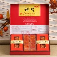 [해일곶감]고품격선물세트(특A-3호)(반건시50g×10입,미니곶감 800g)
