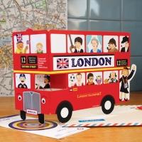 [미노로그] 펀 그리팅카드 시리즈 - 런던2층버스