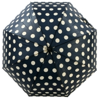 [VOGUE] 돔형 자동장우산(양산겸용) - 도트홀릭(NV)