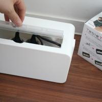 케이블전선 정리박스 -화이트