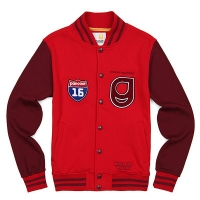 [����]16 DOUBLE DROP STADIUM JACKET (DARK RED) PP113SJ01UR7  P#3