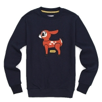 [����]POP DEER FLEECE CREW NECK (NAVY) PP114CR01UB9  P#39560#
