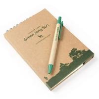 그린장수 친환경 펜꽃이 수첩+펜