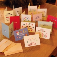 CHRISTMAS CARD 14�� set