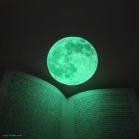 야광 달빛스티커 Clair de Lune (月光)  - small