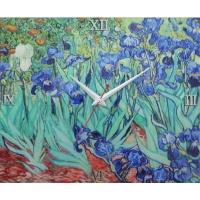[명화시계] 아이리스꽃밭