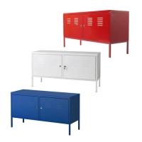 [이케아/IKEA정품 IKEA PS Cabinet]PS 캐비넷/철제수납함/TV장/거실