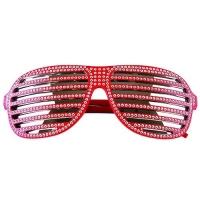 럭셔리 셔터 선글라스 (레드)
