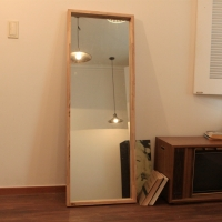 유메11 원목 큰거울