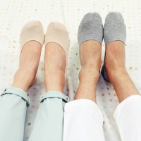 [3+1/벗겨지지않는양말]Secret Fake Socks
