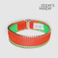 Zipper Bracelet Neon 01. ������ ��