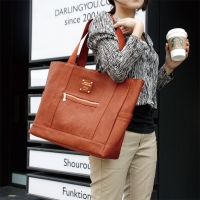 OFFICE Leather Shopper Bag - 가죽 쇼퍼백