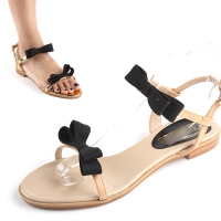 [����Ư��]����Twin Ribbon Flat Sandal [KE05116]