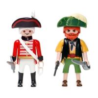 플레이모빌 듀오팩 -해적과 해군(4127)