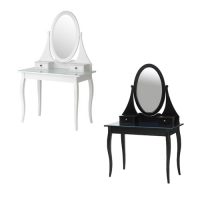 HEMNES Dressing table with mirror 화장대 white 301.582.73