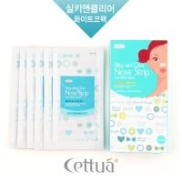 세뚜아 화이트코팩 6매 (실키 앤 클리어 노즈 스트립)