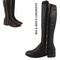 Mix Match Long Boots [KE79029]