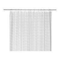 GRONSKA Shower curtain 샤워커튼 white 602.074.27