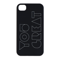 YOU GREAT. PHONE CASE VER 1-05-4 (IPHONE 4, 4S)