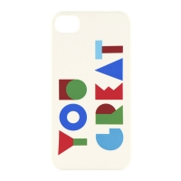YOU GREAT. PHONE CASE VER 1-07-4 (IPHONE 4, 4S)