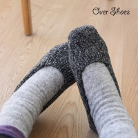 over shoes
