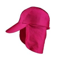 [준블럭] 자외선차단 유아 선캡 핑크