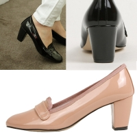 [��������/��������Ƽ] Enamel Loafer Pumps [KEF72326]
