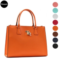 Key Lock Simple Tote Bag
