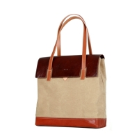 MULTI FACED BAG - BEIGE (burgundy �÷�)