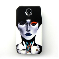 [EPICASE] Art case for GalaxyS4, Blue lip
