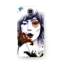 [EPICASE] Art case for GalaxyS4, Flower