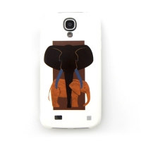 [EPICASE] Art case for GalaxyS4, Elephant mother and child