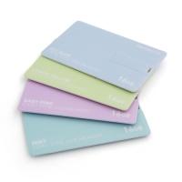 파스텔 8G 카드형 USB메모리 [지갑에 쏙! 은은한 파스텔 색상]
