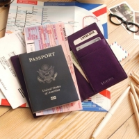 LAYBLOCK TRAVEL EASY PASSPORT GoldPurple