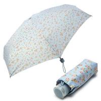 [VOGUE] 보그 5단 수동 우산(양산겸용) - 소녀에게(블루)
