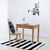 [벤트리]서랍 테이블 80