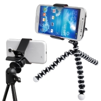 스마트폰 멀티삼각대 미니 - 일반 카메라 삼각대 호환 마운트