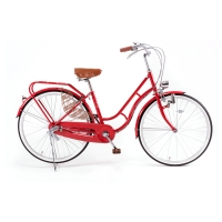 JIKE CLASSIC Roll Loop Double Fr,26 Hub 3 speed_red