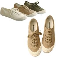 국내생산 Stitch canvas easy sneakers_KM13w060