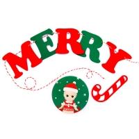 소니엔젤 가랜드-Merry Christmas(크리스마스)