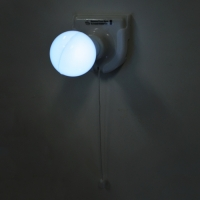 벽걸이형 전구모양 램프
